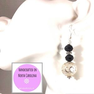 Frontrow.style Jewelry - Sterling Silver Earrings w Silver Plate Balls WoW